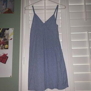 brandy melville blue floral dress